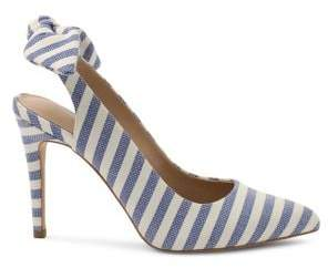 BCBGeneration Henaya Striped Slingback Pumps