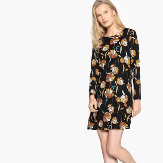 Compania Fantastica Short Floral Print A-Line Dress