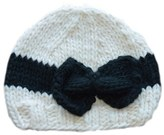 Sabrina Infant Girl's Blueberry Hill 'Sabrina' Knit Cap - Ivory