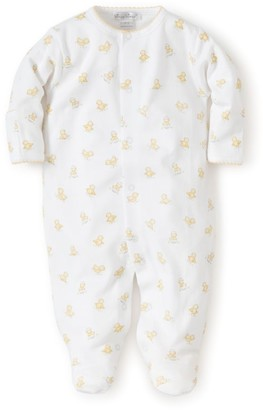 Kissy Kissy Baby's Hatchling Print Cotton Footie