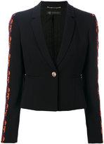 Versace baroque applique cropped jacket