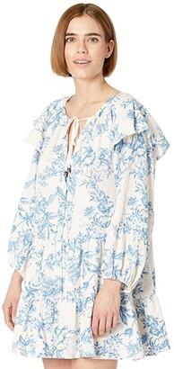Free People Sunbaked Swing Dress (Tea Combo) Women's Dress