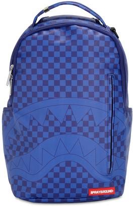 Sprayground Checkered Shark Backpack