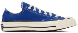 Converse Blue Seasonal Color Chuck 70 OX Sneakers