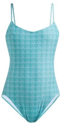 Thorsun Billy Triangle-print Swimsuit - Green Print