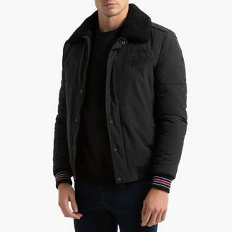 Petrol Industries JAC126 Padded Jacket with Sherpa Aviator Collar