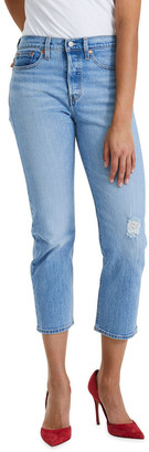 Levi's Wedgie Straight Jeans Lt