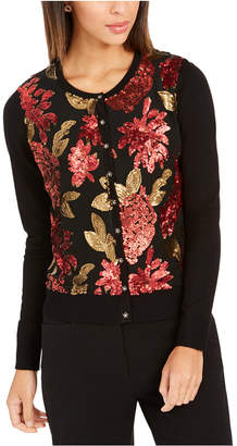 Charter Club Sequined Cardigan