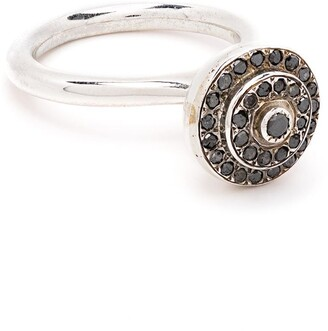 Rosa Maria Crystal Round Ring