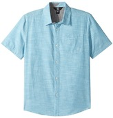 Volcom Everett Oxford Short Sleeve Woven Top Boy's Short Sleeve Button Up