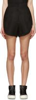 Denis Gagnon SSENSE Exclusive Black Linen Shorts