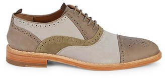 Johnston & Murphy Chambliss Tri-Tone Suede Brogues