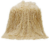 HIEND ACCENTS HiEnd Accent Mongolian Faux Fur Throw