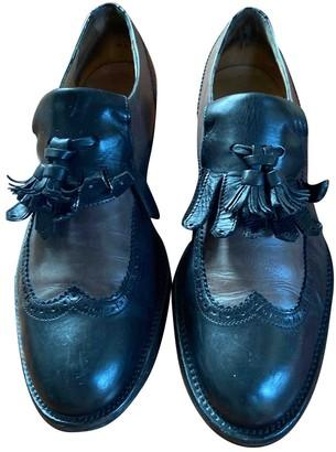 Fratelli Rossetti Black Leather Flats
