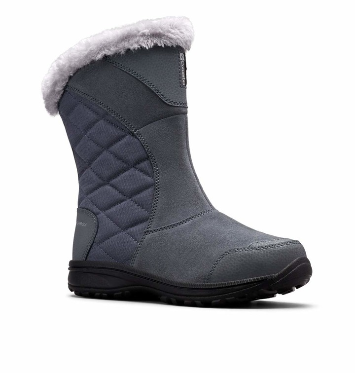 Thumbnail for your product : Columbia Women's ICE Maiden II Slip Snow Boot Graphite Grey 8.5