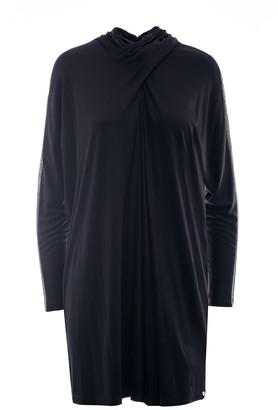 Nissa Sleeve Transparent Insert Casual Dress