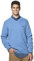 Chaps Big & Tall Classic-Fit Ribbed V-Neck Sweater