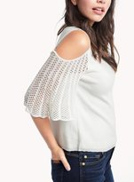 Ella Moss Avalyn Cold Shoulder Sweater