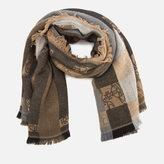 Vivienne Westwood Women's Classic Wool Scarf Brown