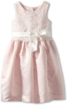 Us Angels Lace Overlay With Satin Skirt Dress (Toddler)