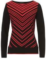 Betty Barclay Chevron knit jumper
