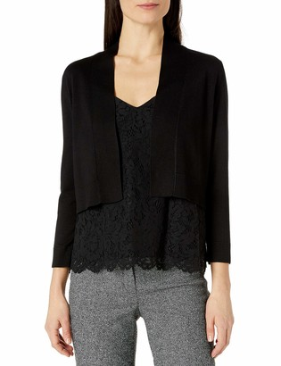 Calvin Klein Women's 3/4 Sleeve Knit Shrug