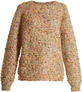 Chloé Round-neck bouclé sweater
