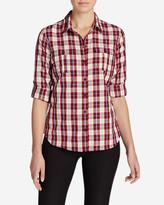 Eddie Bauer Women's Mountain Texture Long-Sleeve Shirt