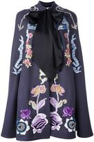 Temperley London embroidered cape