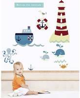 Littleprints Beside The Seaside Fabric Wall Stickers