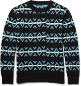 Raf Simons - Jacquard-knit Wool Sweater