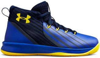 Under Armour Boys' Pre-School UA Lockdown 3 Basketball Shoes
