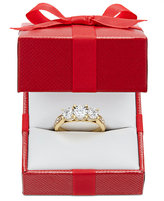 TruMiracle® Diamond Three-Stone Ring (1 ct. t.w.) in 14k Gold or White Gold