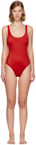 Solid & Striped Red 'The Anne-Marie' Swimsuit