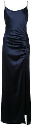 Alice + Olivia Diana long dress with slit