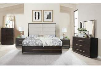 Everly Quinn Blairstown Solid Wood 5 Piece Bedroom Set Quinn Bed Size: King