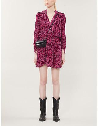 Zadig & Voltaire Reveal graphic-print crepe mini dress