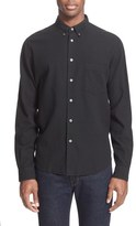 Paul Smith Trim Fit Cotton & Linen Sport Shirt