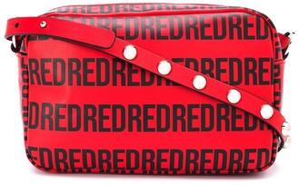 Red(V) Logo-Print Crossbody Bag