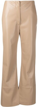 Nanushka Rhyan straight trousers