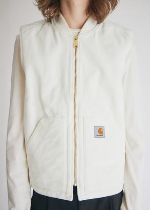 Carhartt WIP Men's Classic Vest in Wax, Size Medium   100% Cotton