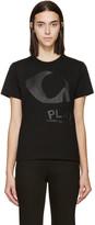 Comme des Garcons Black Jersey Tonal Print T-Shirt
