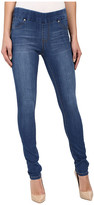 Liverpool Sienna Pull-On Silky Soft Denim Skinny Jean Leggings in Lanier Mid Blue