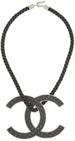 Chanel Pre Owned Jumbo CC rope necklace