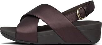 FitFlop Lulu Metallic Leather Sandals