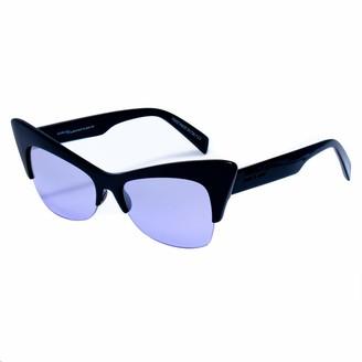 Italia Independent Women's 0908-009-GLS Sunglasses Black (Negro) 59.0