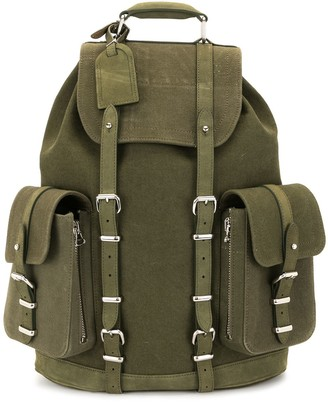Readymade Utility-Style Canvas Backpack