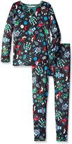 Cuddl Duds Little Boys' Toddler Climatesmart Essential 2-Piece Set