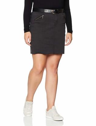 Simply Be Women's Zip A-LINE Mini Skirt Dress
