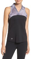 adidas Women's Sport Mesh Sleeveless Polo